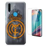 Kit Capa Huawei P30 Lite Real Madrid e Pelicula - Bd cases