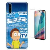 Kit Capa Huawei P30 Lite Rick Morty e Pelicula - Bd cases