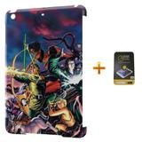 Kit Capa iPad Mini 2/3 Caverna do Dragão +Pel.Vidro BD1 - Bd cases