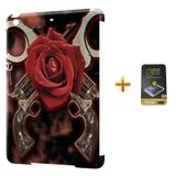 Kit Capa iPad Mini 2/3 Guns n Roses +Pel.Vidro BD1 - Bd cases