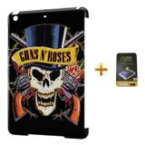 Kit Capa iPad Mini 2/3 Guns n Roses +Pel.Vidro BD2 - Bd cases