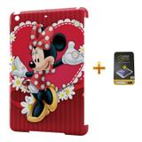 Kit Capa iPad Mini 2/3 Minnie +Pel.Vidro BD1 - Bd cases