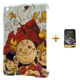Kit Capa iPad Mini 2/3 Snoopy +Pel.Vidro BD1 - Bd cases