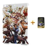 Kit Capa iPad Mini 2/3 Street Fighter +Pel.Vidro BD1 - Bd cases