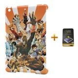 Kit Capa iPad Mini 2/3 Street Fighter +Pel.Vidro BD2 - Bd cases