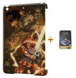 Kit Capa iPad Mini 2/3 Thundercats +Pel.Vidro BD1 - Bd cases