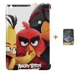 Kit Capa iPad Mini 4 Angry Birds +Pel.Vidro BD1 - Bd cases