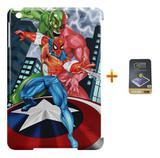 Kit Capa iPad Mini 4 Homem Aranha +Pel.Vidro BD1 - Bd cases