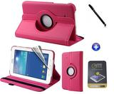"Kit Capa para Galaxy Tab Lite 7"" T110/T111 + Pel (Rosa) - Bd cases"