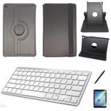 Kit Capa/Teclado branco /Can/Pel Galaxy Tab A T510/T515 10.1 Preto - Bd cases