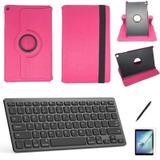 Kit Capa/Teclado/Can/Pel Galaxy Tab A T510/T515 10.1 Rosa - Bd cases