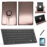 Kit Capa/Teclado/Can/Pel Galaxy Tab A T510/T515 10.1 Rosa C - Bd cases