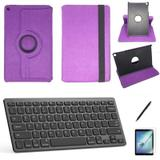 Kit Capa/Teclado/Can/Pel Galaxy Tab A T510/T515 10.1 Roxo - Bd cases