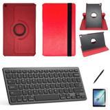Kit Capa/Teclado/Can/Pel Galaxy Tab A T510/T515 10.1 Verm - Bd cases