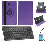 "Kit Capa/Teclado/Can/Pel Galaxy Tab A T590/T595 10.5"" Roxo - Bd cases"