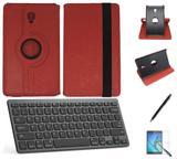 "Kit Capa/Teclado/Can/Pel Galaxy Tab A T590/T595 10.5"" Verm - Bd cases"