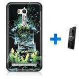 Kit Capa TPU Zenfone GO ZB500KL Hulk Avengers Vingadores + Pel Vidro (BD01) - Bd cases