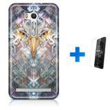 Kit Capa TPU Zenfone GO ZB500KL Olhos de Águia Eagle Eye + Pel Vidro (BD01) - Bd cases