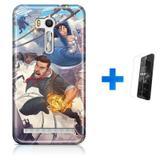 Kit Capa  Zenfone GO ZB500KL Bioshock Infinite + Pel  (BD01) - Bd cases