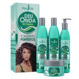 Kit Capilar Deu Onda Cachos Perfeitos 4 Produtos - Mary life