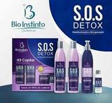 Kit capilar profissional sos detox bio instintom ( original )