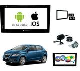 Kit Central Multimidia Dvd Onix + Tv + Espelhamento Ios - E-tech