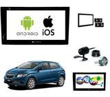 Kit Central Multimidia Dvd Onix + Tv + Espelhamento Ios - E-tech