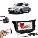 Kit Central Multimídia Fit + Moldura 2 Din Hyundai I30 + Câmera Ré - Cinoy