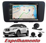 Kit Central Multimidia Nissan Kicks + Espelhamento Tv Gps Bt - Multi marcas