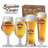 Kit Coleção de Taças Sammelier de Cervejas Artesanais - Ruvolo