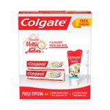Kit Colgate Total 12 Clean Mint 90gr 2 unidades + Gel Dental Smiles 100g