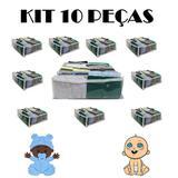 Kit com 10 - Organizadores de gavetas roupinha de bebê - Meu tio que fez