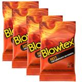 Kit com 12 Preservativo Blowtex Hot c/ 3 Un Cada
