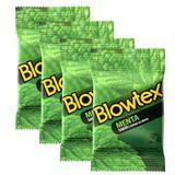Kit com 12 Preservativo Blowtex Menta c/ 3 Un Cada