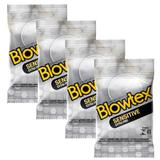 Kit com 12 Preservativo Blowtex Sensitive c/ 3 Un cada