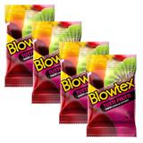 Kit com 12 Preservativo Blowtex Tutti-Frutti c/ 3 Un Cada