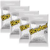Kit com 12 Preservativo Blowtex Zero c/ 3 Un Cada