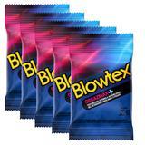 Kit com 15 Preservativo Blowtex Orgazmax c/ 3 Un Cada