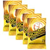 Kit com 15 Preservativo Blowtex Retardante c/ 3 Un Cada