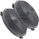 Kit com 2 Filtros de Carvão Ativado para Coifas Electrolux 90CV / 60CT / 90CT / 90CIT