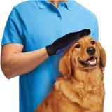 Kit com 2 Luva Mágica Massageadora Tira Pelos Cães E Gatos Silicone - Glove touch