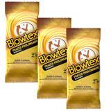 Kit com 24 Preservativo Blowtex Retardante c/ 6 Un Cada
