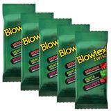 Kit com 30 Preservativo Blowtex Twist c/ 6 Un Cada
