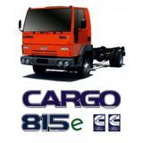 Kit Com 4 Adesivos Caminhão Cargo 815e Cummins Ford Resinado - Sportinox