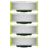 Kit Com 4 Lâminas Oneblade Para Barbeador Philips Refil De Reposição