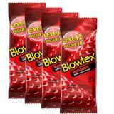 kit com 48 Preservativo Blowtex Morango Leve 48 Pague 40
