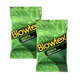 Kit com 6 Preservativo Blowtex Menta c/ 3 Un Cada