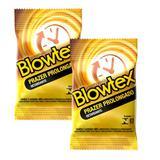 Kit com 6 Preservativo Blowtex Retardante c/ 3 Un Cada