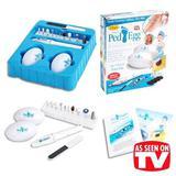 Kit Completo De Cuidados Com Os Pés Ped Egg Com Polidor De Unhas, Lixador, Esfoliador , Removedor De - Asotv