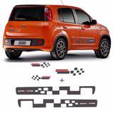 Kit Completo Faixa Lateral Uno Vivace Sporting Grafite - Sportinox